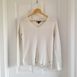 White American Eagle Sweater
